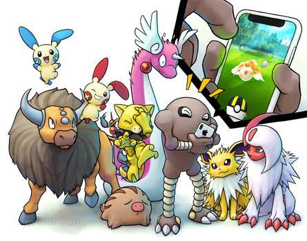 Pokemon Go Competition Commission