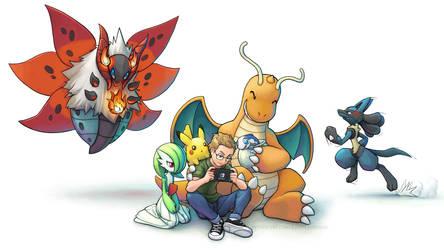 Commission: Fable's Pokemon Team