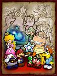 I really like Paper Mario 2