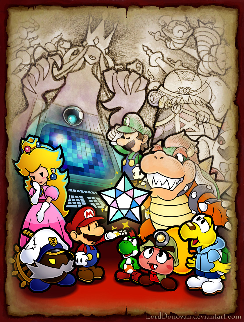 I really like Paper Mario 2 by LordDonovan