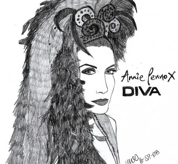 Diva Annie Lennox: Annie Lennox- Diva By LivRavencroft On DeviantART