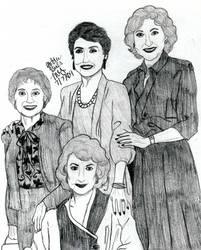 Golden Girls Cast by LivRavencroft