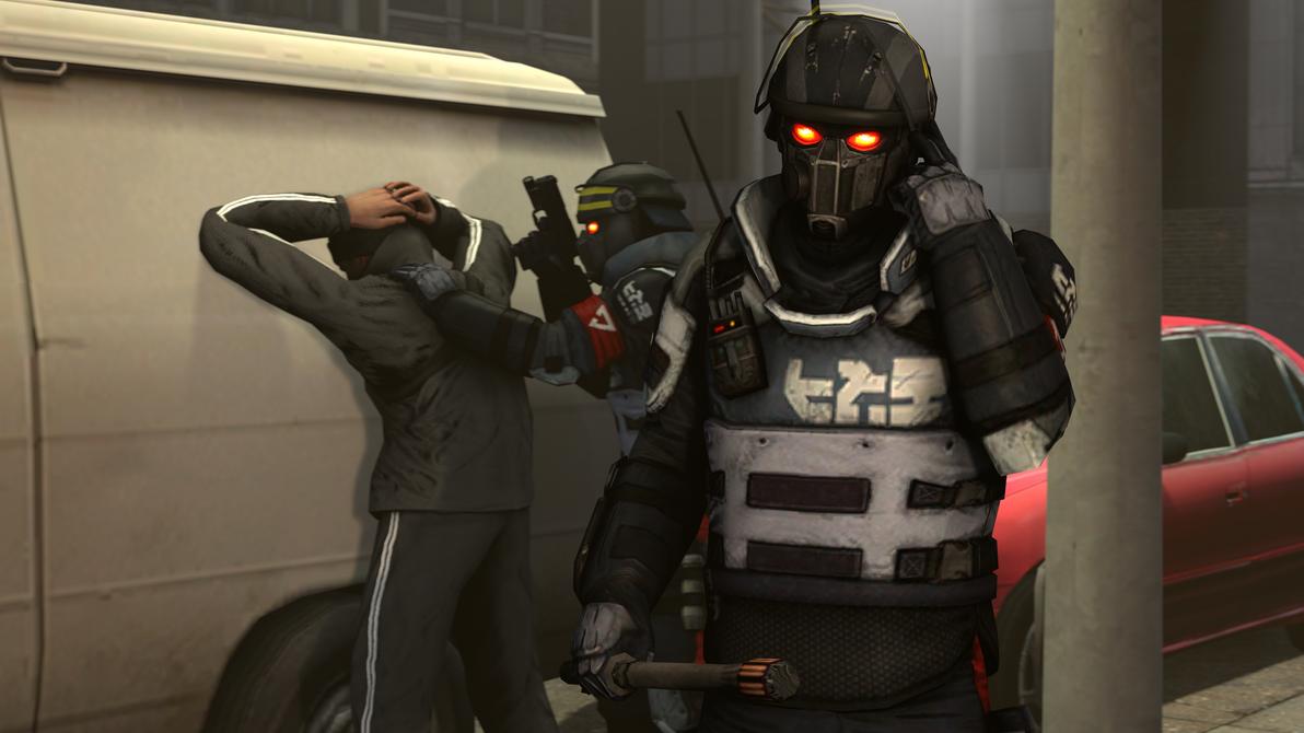[SFM] Helghast police by Raptor3595