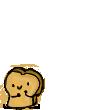Tiny Toast by bunnyX123