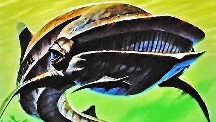 Baleine du futur by dragonfroid