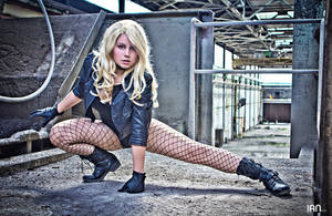 Dc Comics: Black Canary: ''Come at me!'' by 14vegeta
