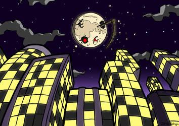Man in the Moon by Splenguin