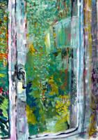 Painting - Window by NinNin-Niwashi