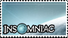 Insomniac Games Stamp by Jazz-Kamelski