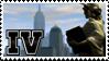 Grand Theft Auto IV Stamp by Jazz-Kamelski