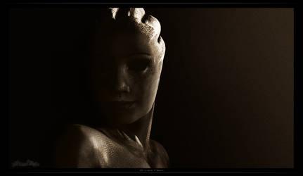 Liara T'Soni - Lithograph Inspired Portrait