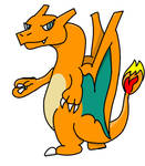 Chibi Smoky the Charizard