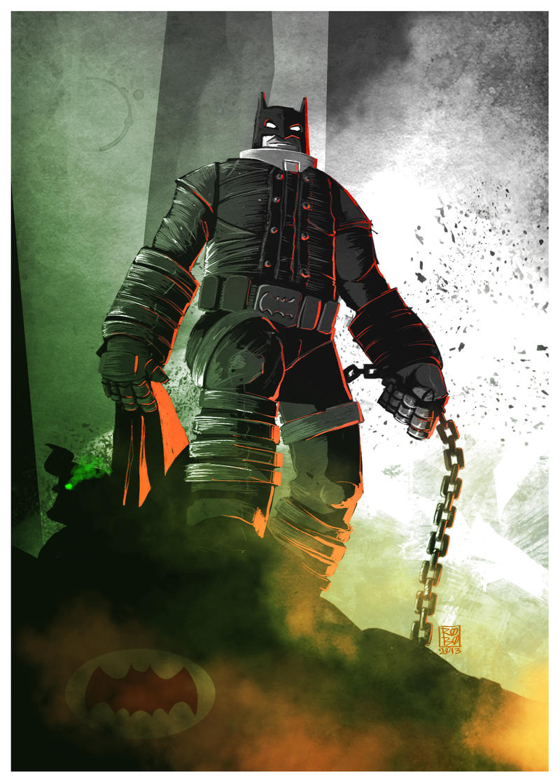 The Dark Knight Returns by El-Ro-Bo