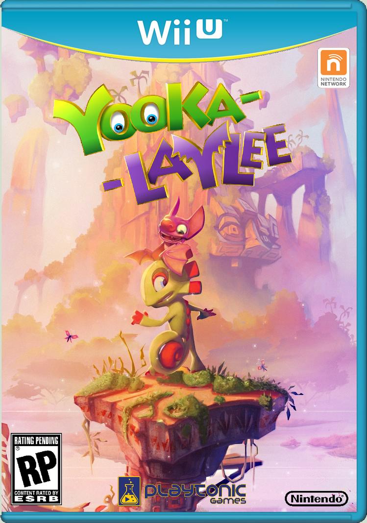 Yooka-Laylee BoxArt by crazychristian28