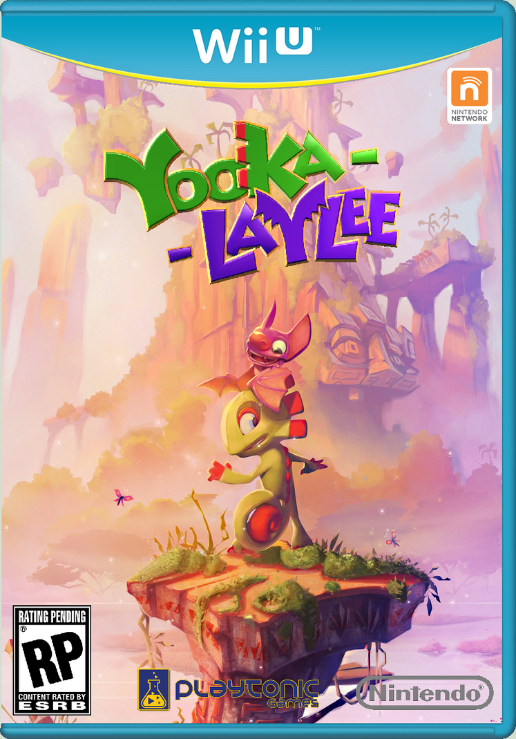 Yooka-Laylee new boxart by crazychristian28
