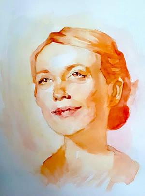 sunshine female portrait by Neivan-IV