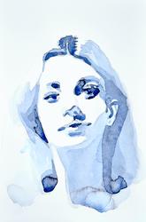 blue portrait by Neivan-IV