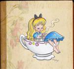 Alice in tea time
