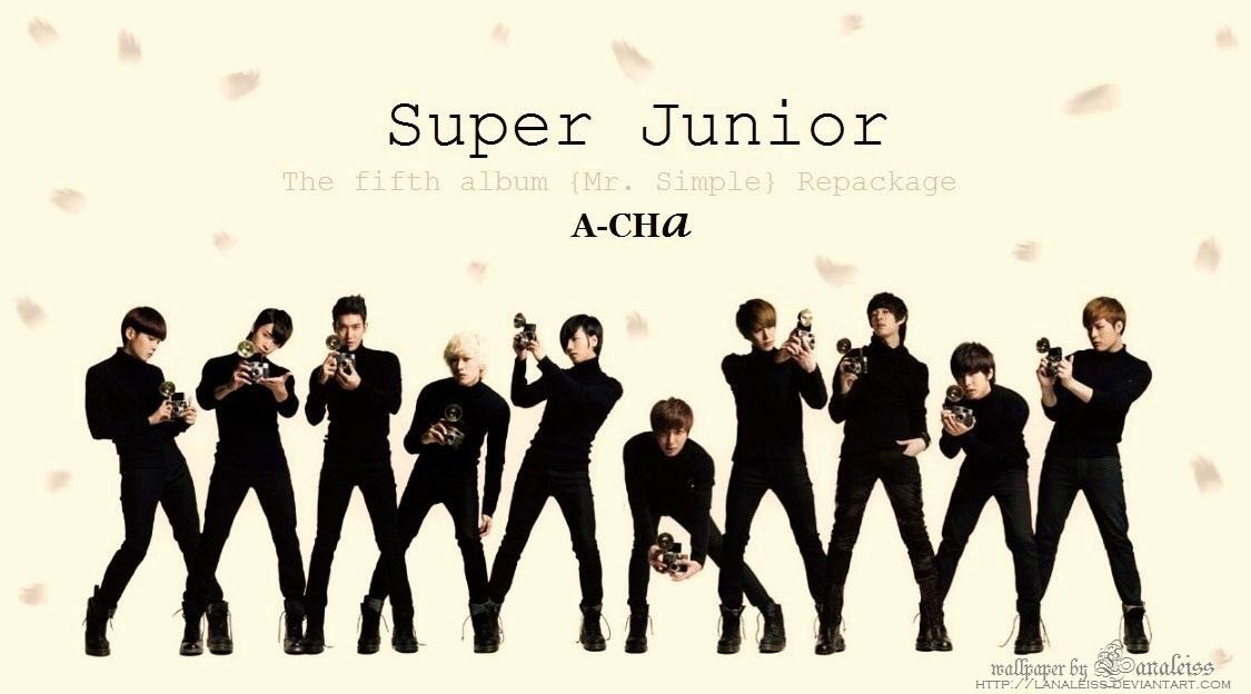 [NOTI][27.09.11]SUPER JUNIOR - A-CHA (Álbum repackage) Super_junior_a_cha_wallpaper_by_lanaleiss-d49umch