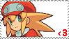 Roll Caskett Fan Stamp by Megaman-Legends-Club