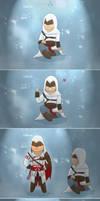 Assassins Trio - Revolution of Assassins Creed