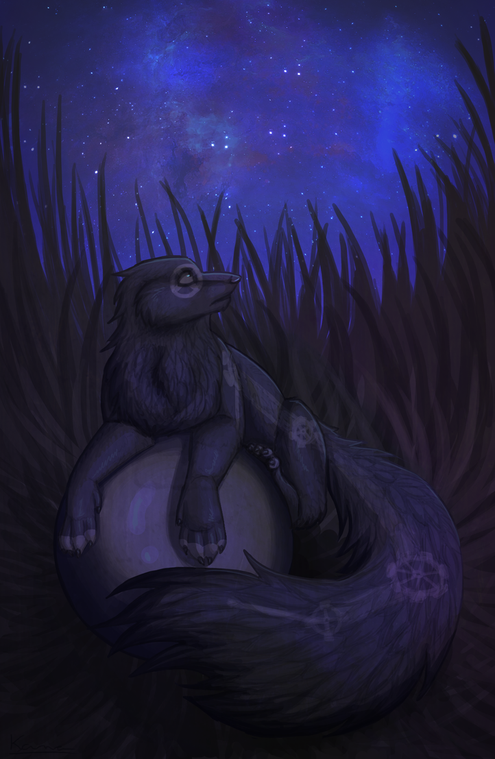 Nighttime by KanahaniART