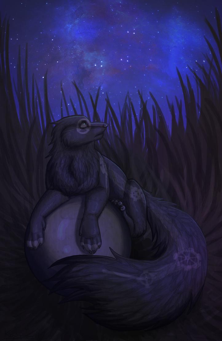 Nighttime by KanahaniART