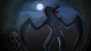 Night killer by KanahaniART