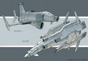 Vehicle Design Drawthrough 1 of 3 by VplusY
