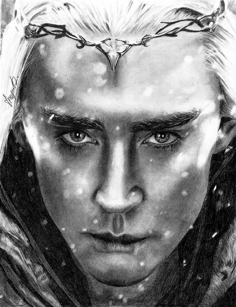 King of the Woodland Realm by shaynaJreddick