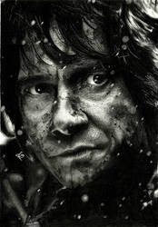 Bilbo Baggins (drawing) by shaynaJreddick