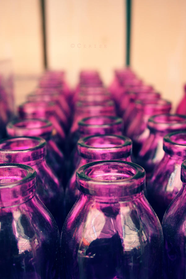 bottles II by xmarvel
