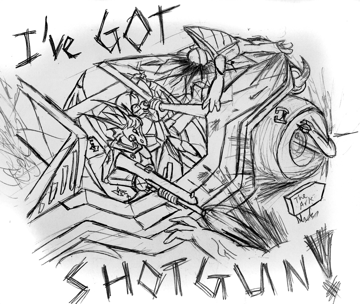 I've Got SHOTGUN by Snowfyre