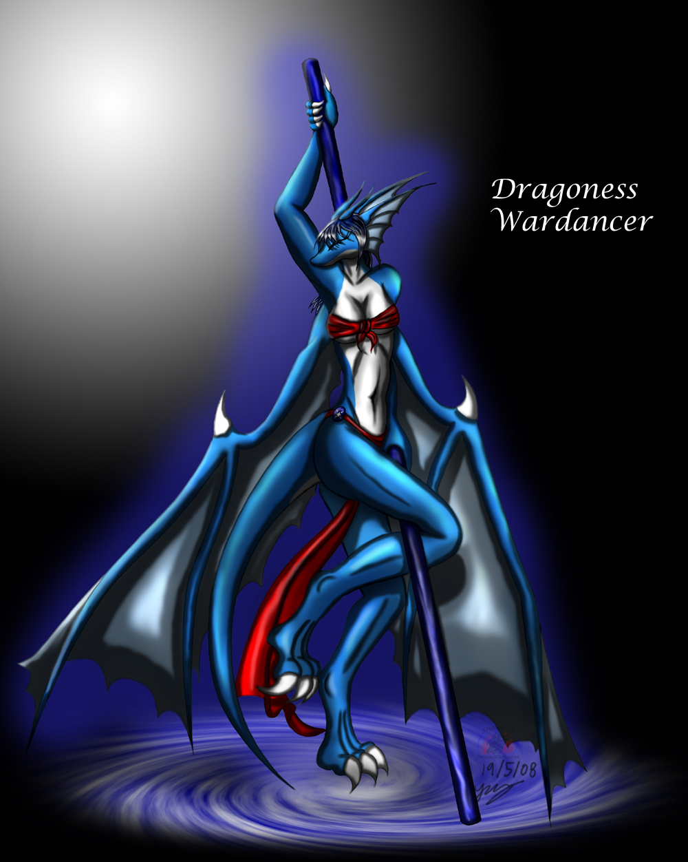 Dragoness Wardancer by Snowfyre