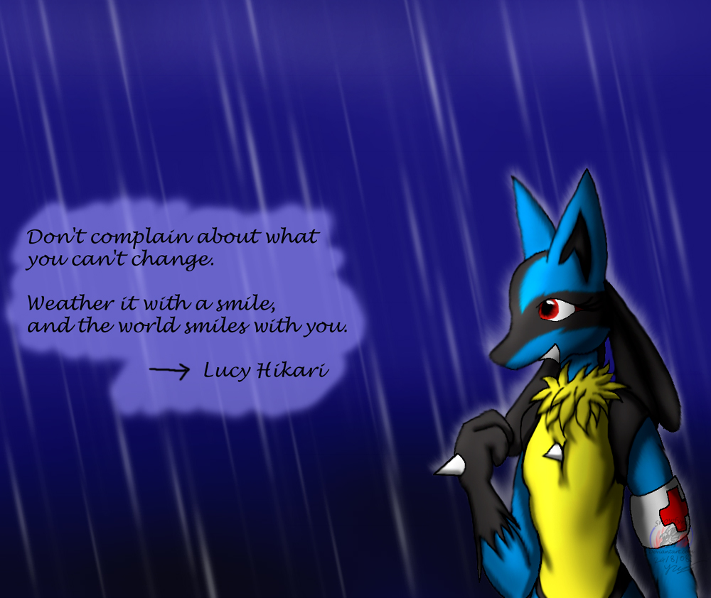 Lucy: Rain by Snowfyre
