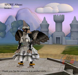 SPORE Abuse: Strider clothing