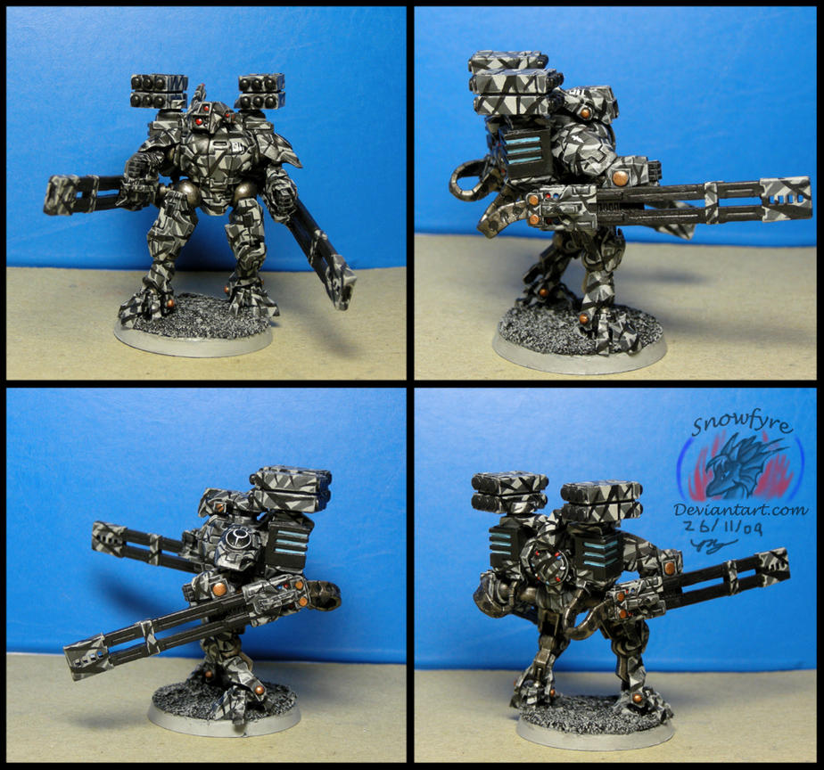 XV 88-2 Broadside Battlesuit by Snowfyre