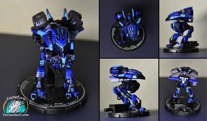 Raptor II Battlemech by Snowfyre