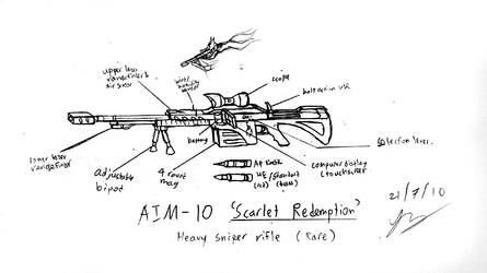 AIM-10 'Scarlet Redemption' by Snowfyre