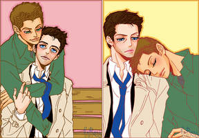 Dean X Cas 5 by glaringstar