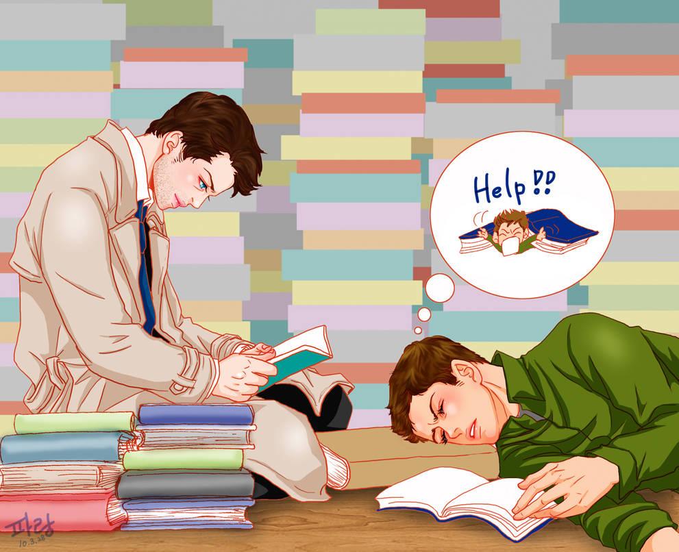 reading by glaringstar