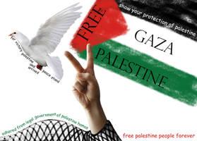victory palestinian of Gaza by zealousofpeace
