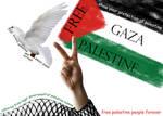 victory palestinian of Gaza