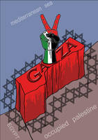 blockade of GAZA after victory by zealousofpeace