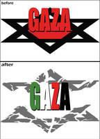 GAZA victorious by zealousofpeace