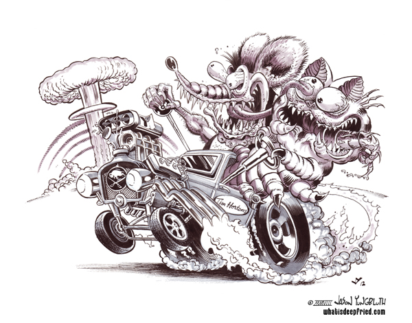 Graphics For Rat Fink Graphics Www Graphicsbuzz Com Rat Fink Coloring Pages