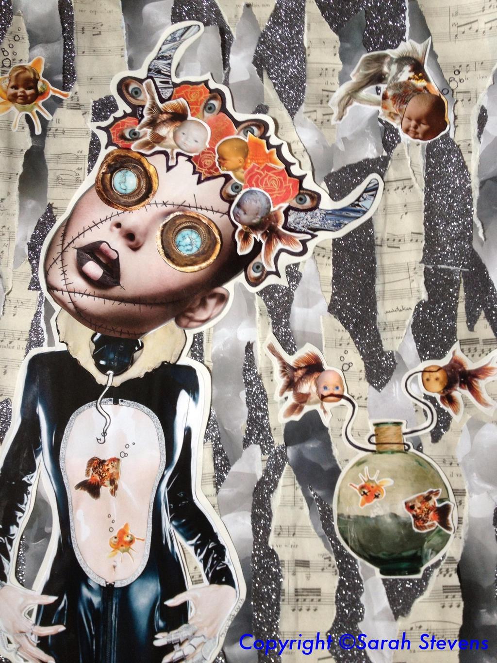 Creature, Me by saira30