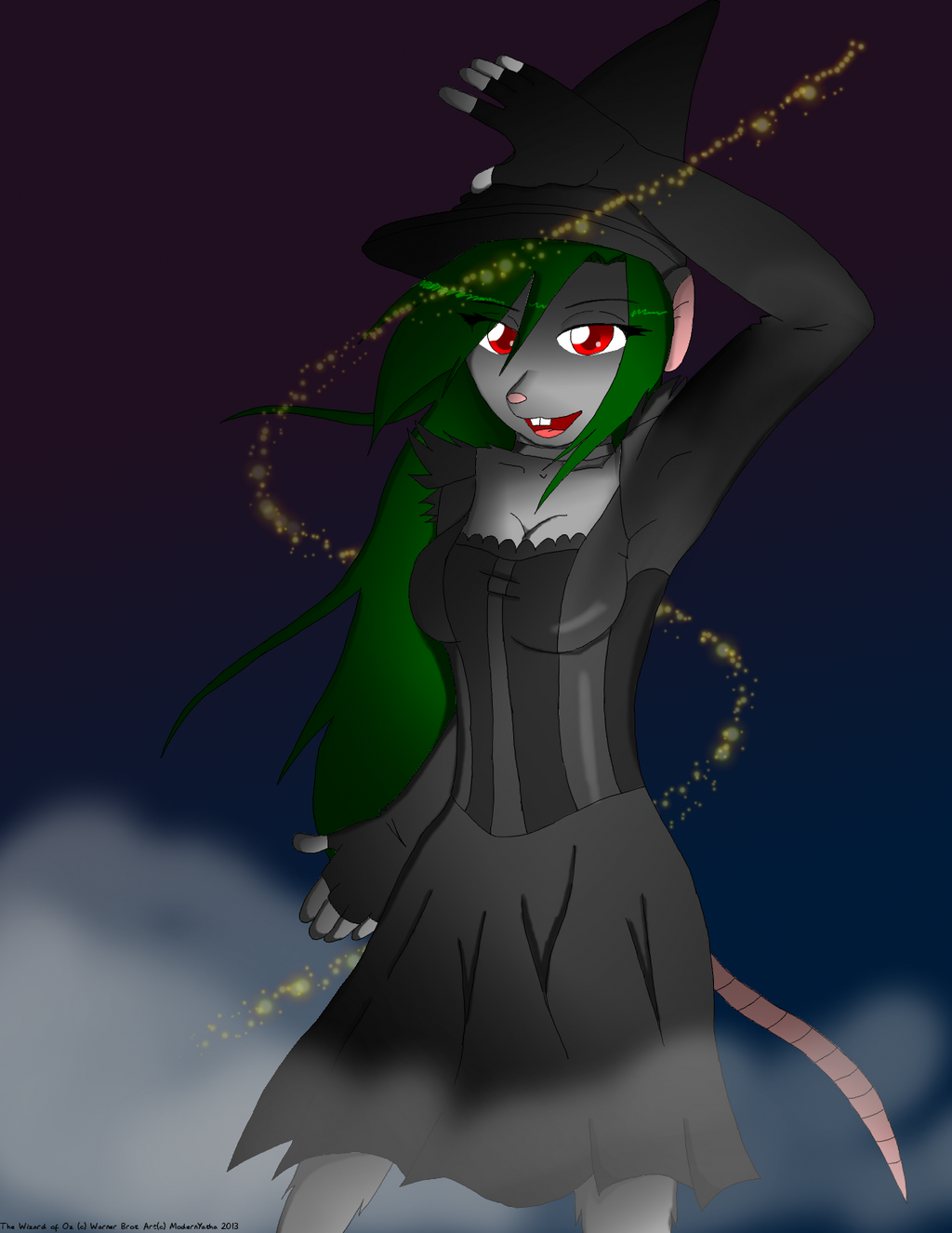 Wicked Witch of the West by ModernYasha - 964.5KB