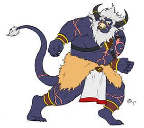 Royal Zephyr Knight Kazim IN LIVING COLOR!!! by yokodoko