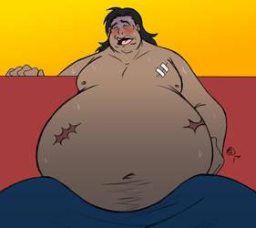 Daigo's Got A Tummy Ache